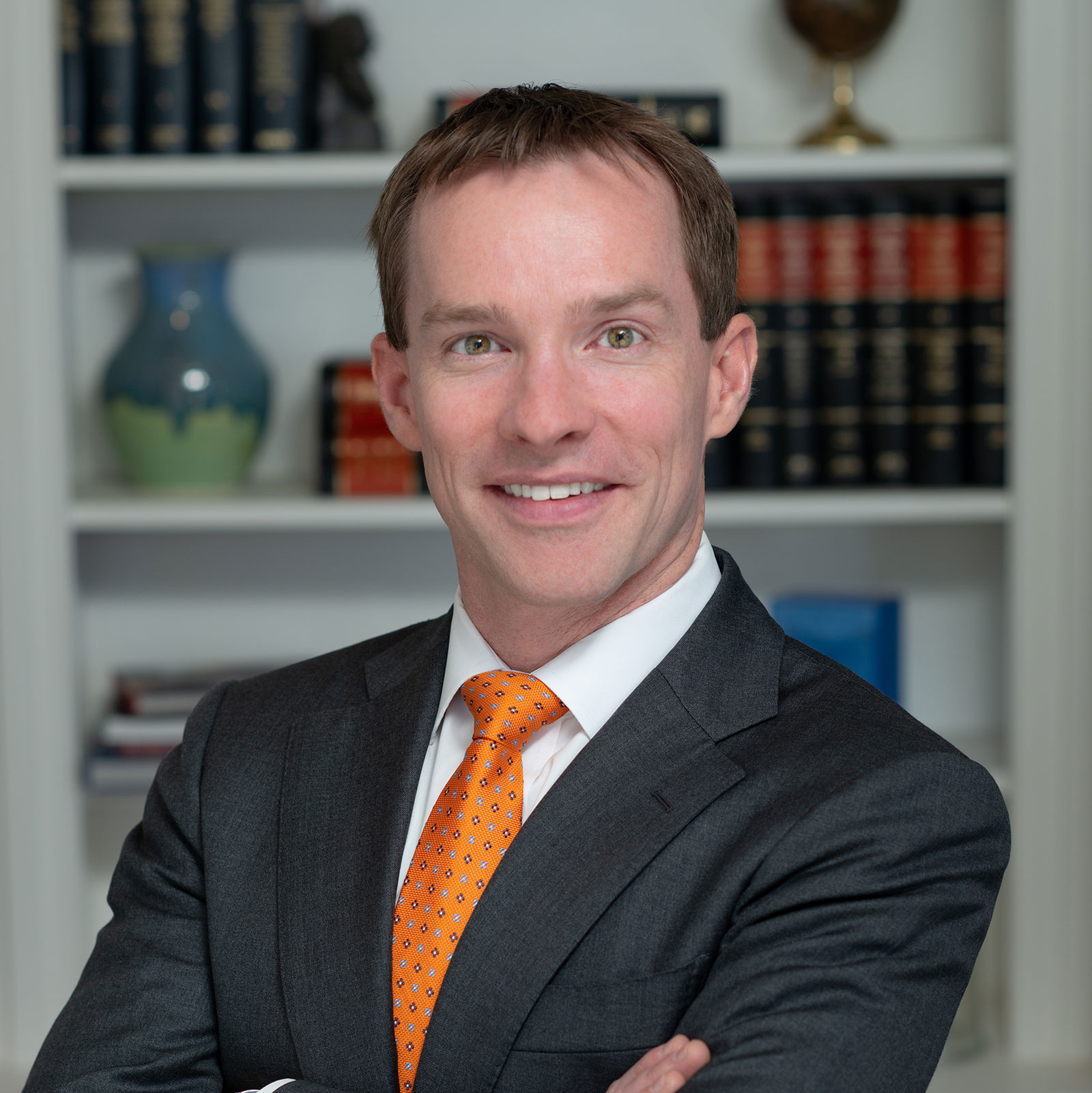 Head shot of David Metzger, a real estate lawyer with Williams Teusink serving Decatur, Georgia and DeKalb County.