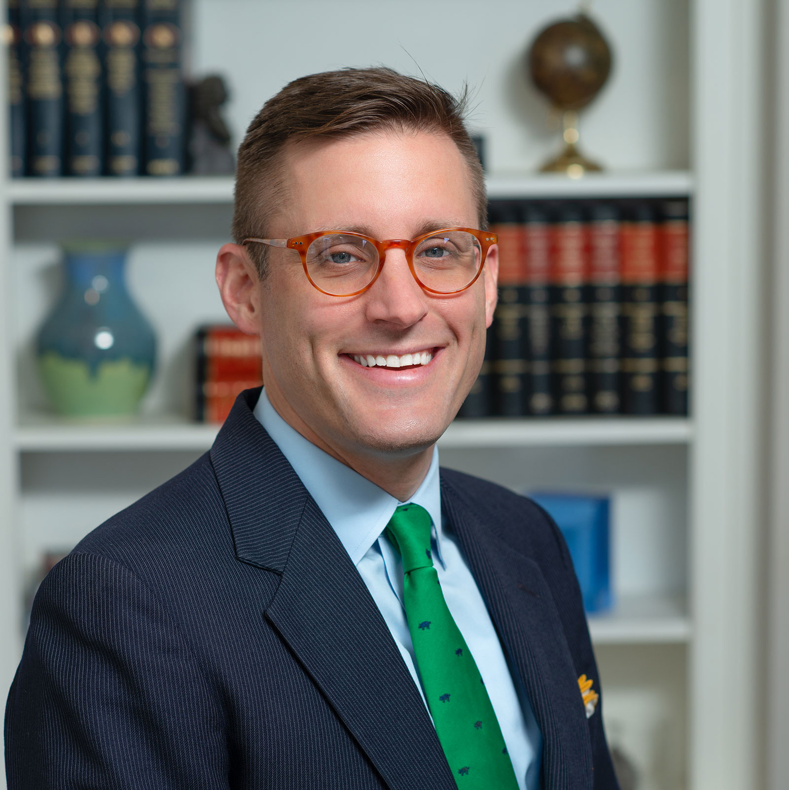 Head shot of Eric Teusink, a real estate attorney in Atlanta, Georgia and founding partner of Williams Teusink.