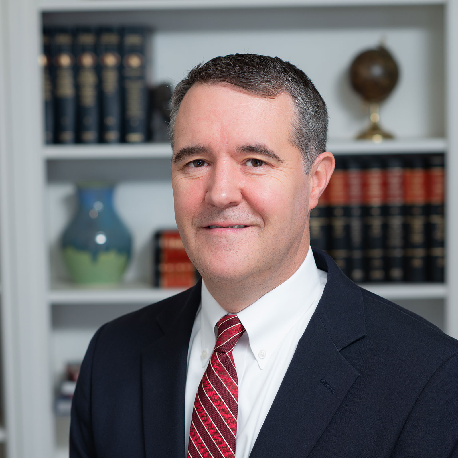 Head shot of Lawton Jordan, a business attorney serving corporate and SMB clients in and around Decatur, Georgia.