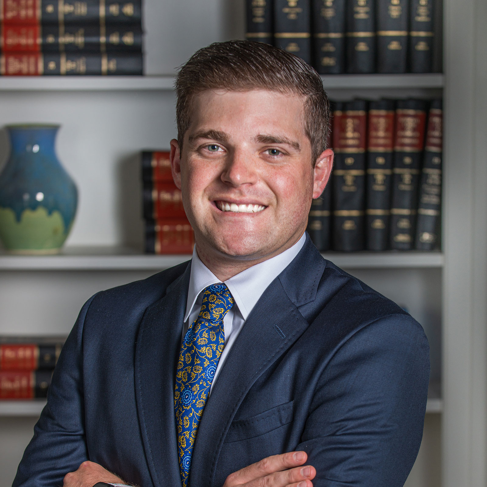 Headshot of Alec Sard, an Atlanta based provisional attorney with a primary focus on land use and development and general real estate law.